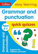 Collins Easy Learning Grammar & Punctuation Quick Quizzes Ages 5-7