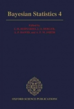 Jose M. Bernardo,   J. O. Berger,   A. P. David,   A. F. M. Smith Bayesian Statistics 4
