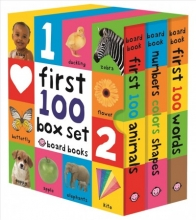 Priddy, Roger First 100 Board Book Box Set (3 Books)