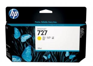 , Inktcartridge HP B3P21A 130ml 727 geel