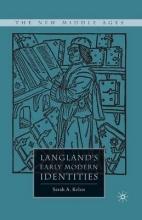 Kelen, Sarah A. Langland`s Early Modern Identities