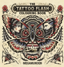 Munden, Mega Tattoo Flash Colouring Book