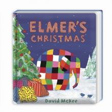David,Mckee Elmer`s Christmas (board Book)