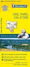 , Oise, Paris, Val-d`Oise - Michelin Local Map 305