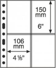 337 553 , Verzamelbandbladen grande 2 ct 2x2 vakken