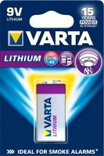 , Batterij Varta Ultra lithium 9Volt