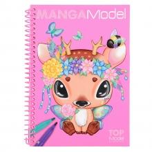 6582 b Mangamodel pocket kleurboek