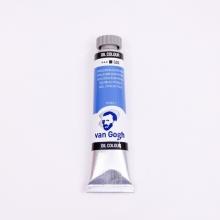 , Talens van gogh olieverf tube 20 ml ceruleum blauw phtalo 535