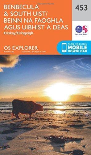 Ordnance Survey,Benbecula and South Uist/Beinn Na Faoghla Agus Uibhist a Deas
