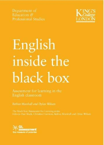 Bethan Marshall,   Dylan Wiliam,English Inside the Black Box