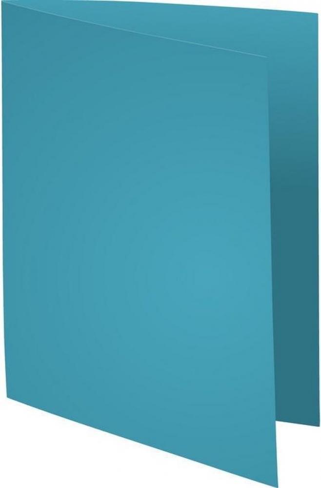 ,Vouwmap Exacompta Super A4 80gr lichtblauw