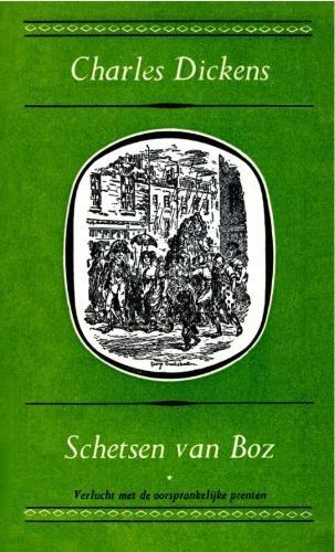 Charles Dickens,Schetsen van Boz