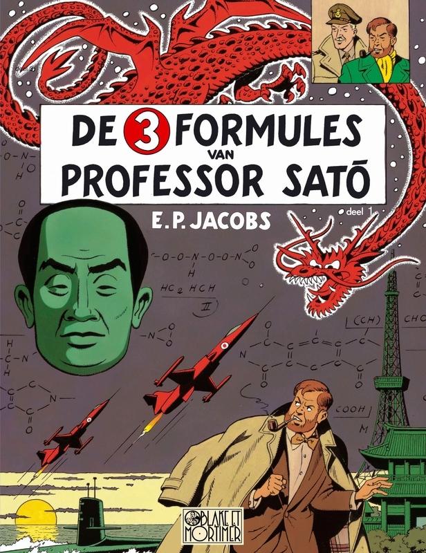 Edgar,Pierre Jacobs,Mortimer in Tokio