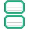 , Etiket Herma 5716 82x55mm schrift groene rand 12stuks