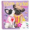 ,<b>Topmodel create your doggy colouring book</b>