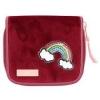 ,<b>Topmodel portemonnee - regenboog -  rood</b>