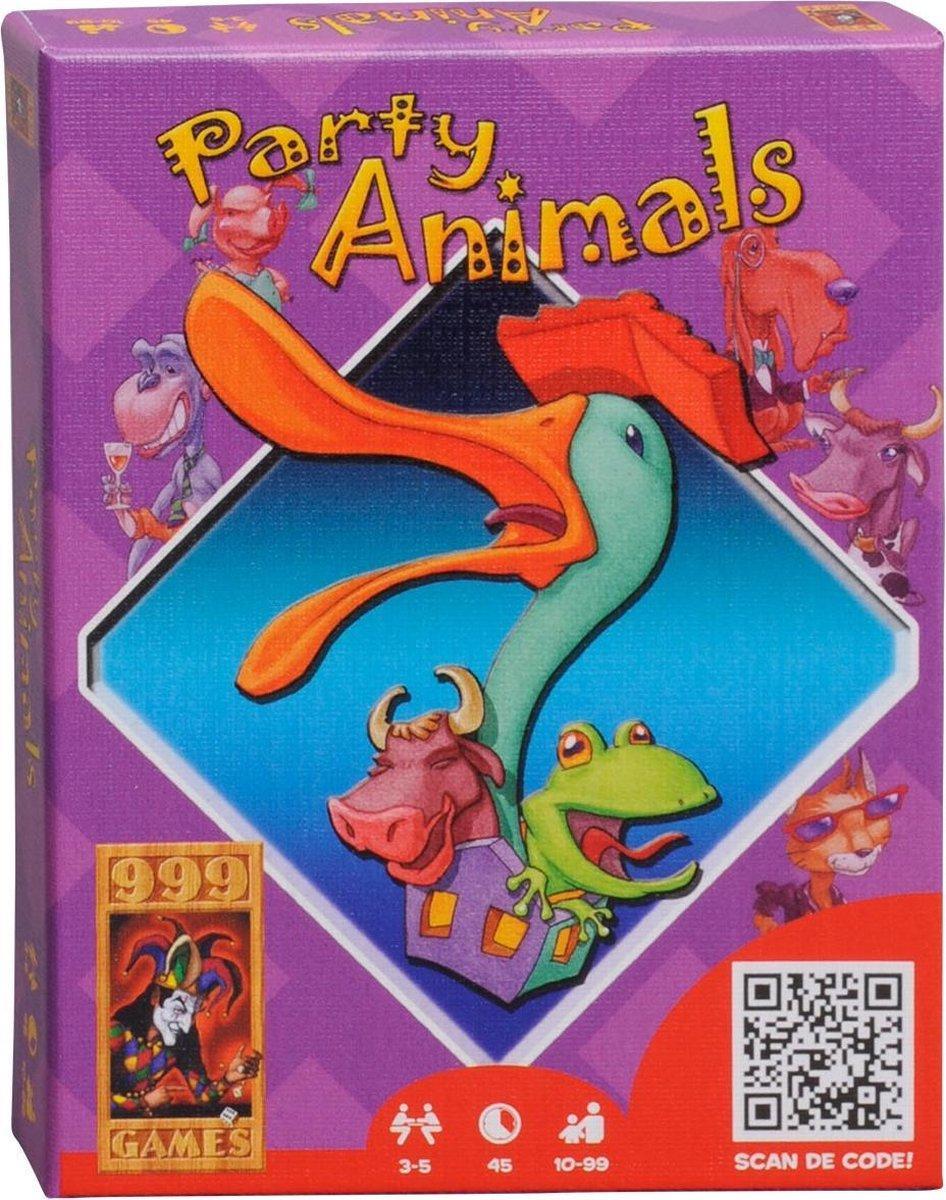 999-par01,Party animals - kaartspel - 999 games