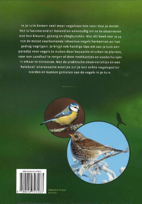 Daniella Strauss,Vogels in je tuin