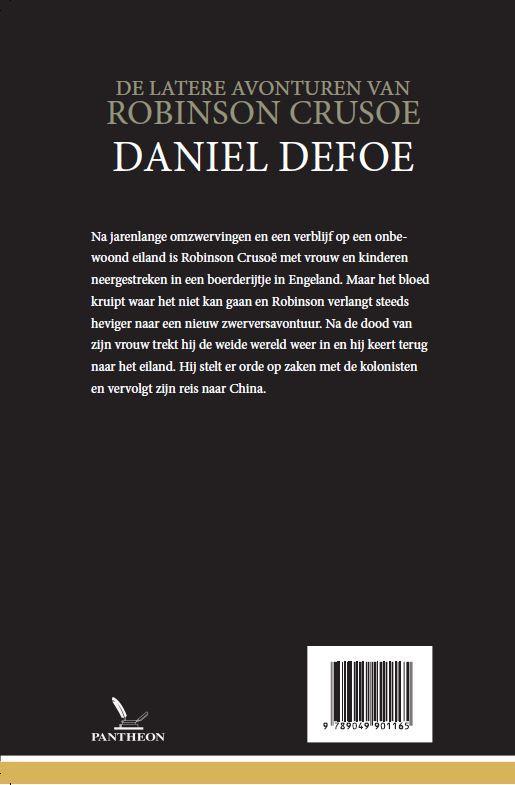 Daniël Defoe,De latere avonturen van Robinson Crusoe