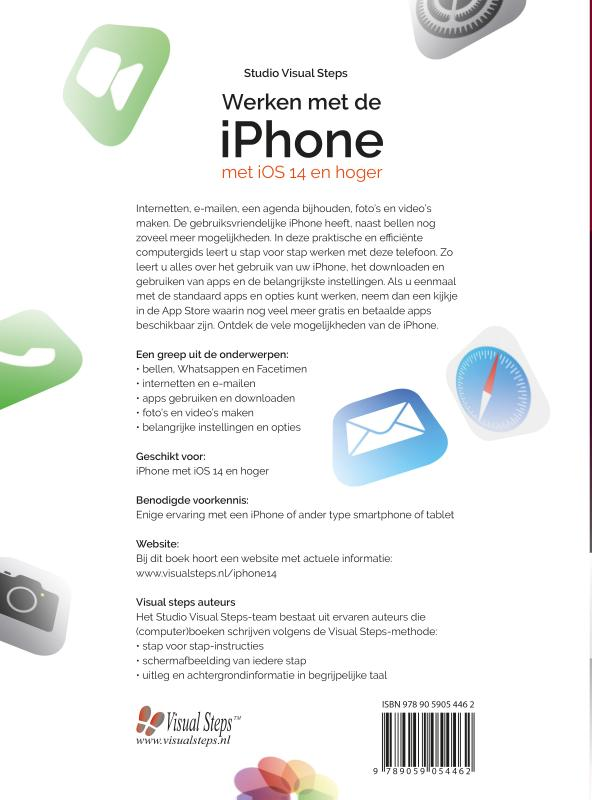 Studio Visual Steps,Werken met de iPhone met iOS14 en hoger