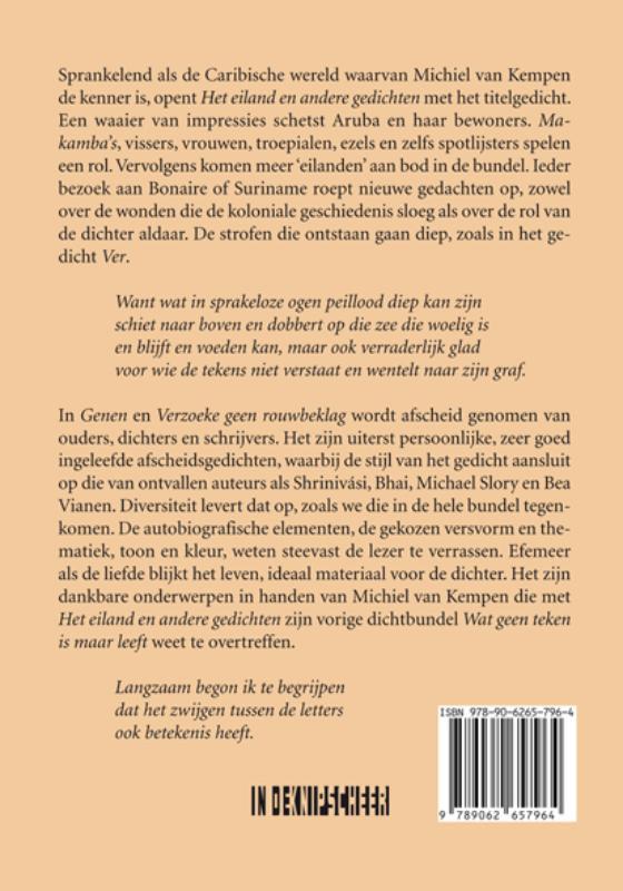 Michiel van Kempen,Het eiland en andere gedichten
