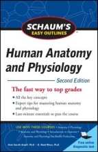 Van De Graaff, Kent M.,   Rhees, R. Ward Schaums Easy Outlines of Human Anatomy and Physiology