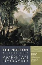 Baym, Nina The Norton Anthology of American Literature - V1