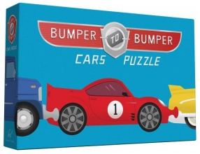 Chronicle Books Bumper-To-Bumper Cars Puzzle