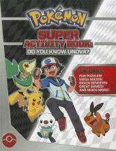 Pikachu Press Pokemon Super Activity Book