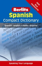 APA Publications Limited Berlitz Compact Dictionary Spanish