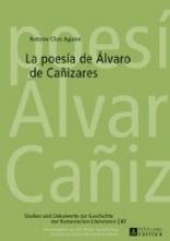 Chas Aguión, Antonio La poesía de Álvaro de Cañizares