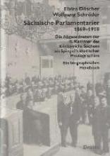 Döscher, Elvira Sächsische Parlamentarier 1869-1918