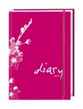 Tages-Agenda A6 modern pink 2016