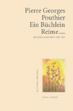 Pouthier, Pierre G Ein Bchlein Reime