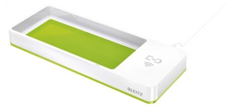 , Bureau organizer Leitz WOW met inductie oplader groen