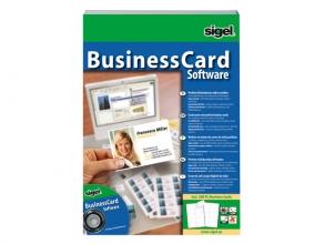 , software Sigel BusinessCard voor visitekaartjes meertalig