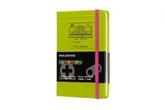 , Moleskine LE Notitieboek Super Mario Notebook Pocket (9x14 cm) Gelinieerd Gameboy