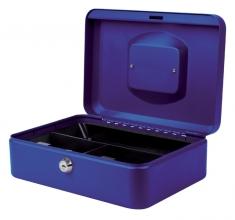 , Geldkist Pavo 250x180x90mm blauw