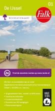 , Falk recreatiekaart 01 De IJssel