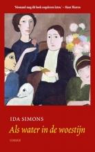 Ida  Simons Als water in de woestijn