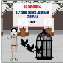 Ls Coronalis , Klassiek Grieks leren met stripjes