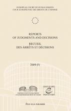 , Reports of judgments and decisions recueil des arrets et decicions 2009-IV