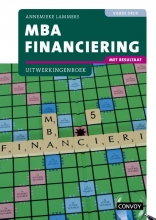 A. Lammers , MBA Financiering met resultaat bij 4e druk Uitwerkingenboek