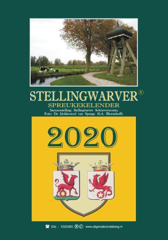 ,Stellingwarver spreukekelender 2020