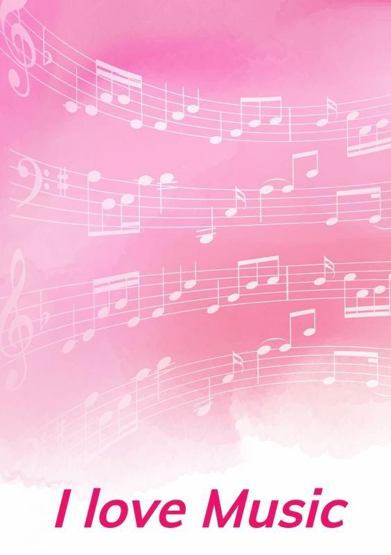Allets Comfort,Notenschrift- Notenbalken- Pinky- (A5) Allets Comfort