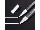 ,krijtmarker Sigel 1-2mm & 1-5mm afwasbaar 2 stuks wit