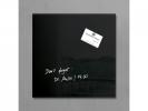 ,<b>glasmagneetbord Sigel Artverum 300x300x15mm zwart</b>