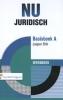 Jasper Brik,NU Juridisch Basisboek A werkboek
