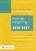 ,Arbeidswetgeving 2016/2017