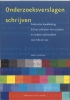 <b>Dr. K. Soudijn</b>,Onderzoeksverslagen schrijven